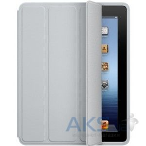 Чехол для планшета Apple Smart Case Polyurethane iPad 4, iPad 3, iPad 2 Light Gray (MD455)