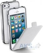 Чехол CellularLine Flip Cover Apple iPhone 5, iPhone 5S, iPhone SE White (CONVERTCIPHONE5W)