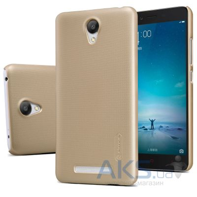 Чехол Nillkin Super Frosted Shield Xiaomi Redmi Note 2, Redmi Note 2 Prime Gold