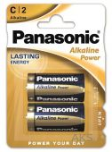 Батарейки Panasonic C (LR14) Alkaline Power 2шт (LR14REB/2BP)