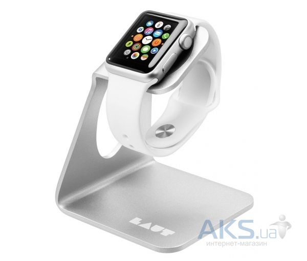 Laut Док-станция для Apple watch (LAUT_AW_WS_SL) Silver
