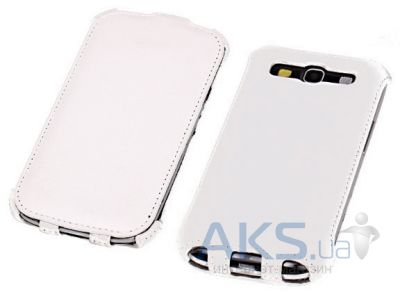 Чехол Yoobao Lively leather case for Samsung i9300 Galaxy S III White (LCSAMI9300-LWT)
