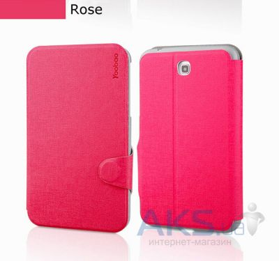 Чехол для планшета Yoobao Fashion leather case for Samsung T210/T211 Galaxy Tab 3 7.0 Rose (LCSAMP3200-FRS)