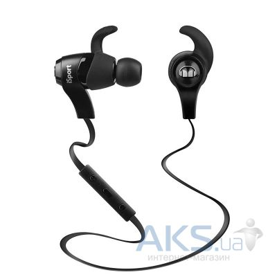 Наушники (гарнитура) Monster НiSport Bluetooth Wireless In-Ear Black