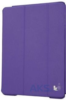 Чехол для планшета JisonCase Executive Smart Cover for iPad Air Purple (JS-ID5-01H50)