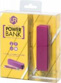 Вид 4 - Внешний аккумулятор Urban Revolt Power Bank Portable Phone Charger 2200mAh Fuchsia