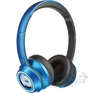 Наушники (гарнитура) Monster NCredible NTune On-Ear Headphones Candy Blue (MNS-128505-00)