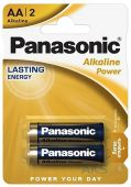 Батарейки Panasonic AA (R6) Alkaline Power 2шт (LR6REB/2BP)