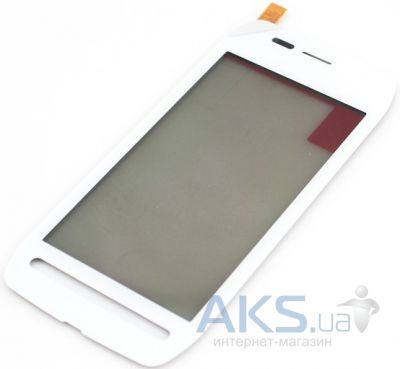 Сенсор (тачскрин) для Nokia 603 Original White