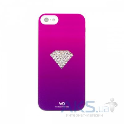 Чехол White Diamonds Rainbow Pink Apple iPhone 5, iPhone 5S, iPhone SE (1210RAI41)