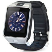 Умные часы UWatch Smart DZ09 Silver with Black strap