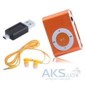Вид 2 - Mp3-плеер Slim Flash Drive Orange (Распродажа!)