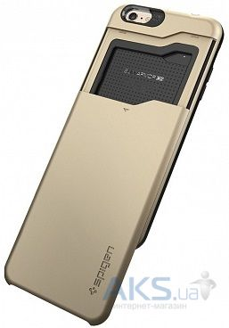 Чехол SGP Slim Armor CS for iPhone 6 Plus Champagne Gold (SGP10913)