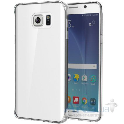 Чехол Rock Pure Series Samsung N920 Galaxy Note 5 Transparent