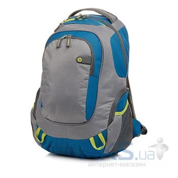 "Сумки для ноутбуков HP Outdoor Sport  Backpack 15.6"" (F4F29AA) Grey/Blue"