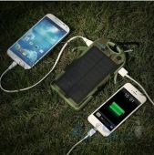 Вид 4 - Внешний аккумулятор power bank MANGO IPX6 waterproof solar,12000mAh Сamouflage Green