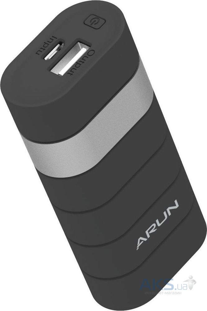 Внешний аккумулятор power bank Arun Power Bank Y302 5000mAh Black