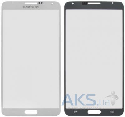 Стекло для Samsung Galaxy Note 3 N900, N9000, N9005, N9006 Original White