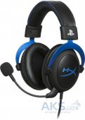Наушники для PlayStation 4 HyperX Cloud For PS4 Blue (HX-HSCLS-BL/EM)
