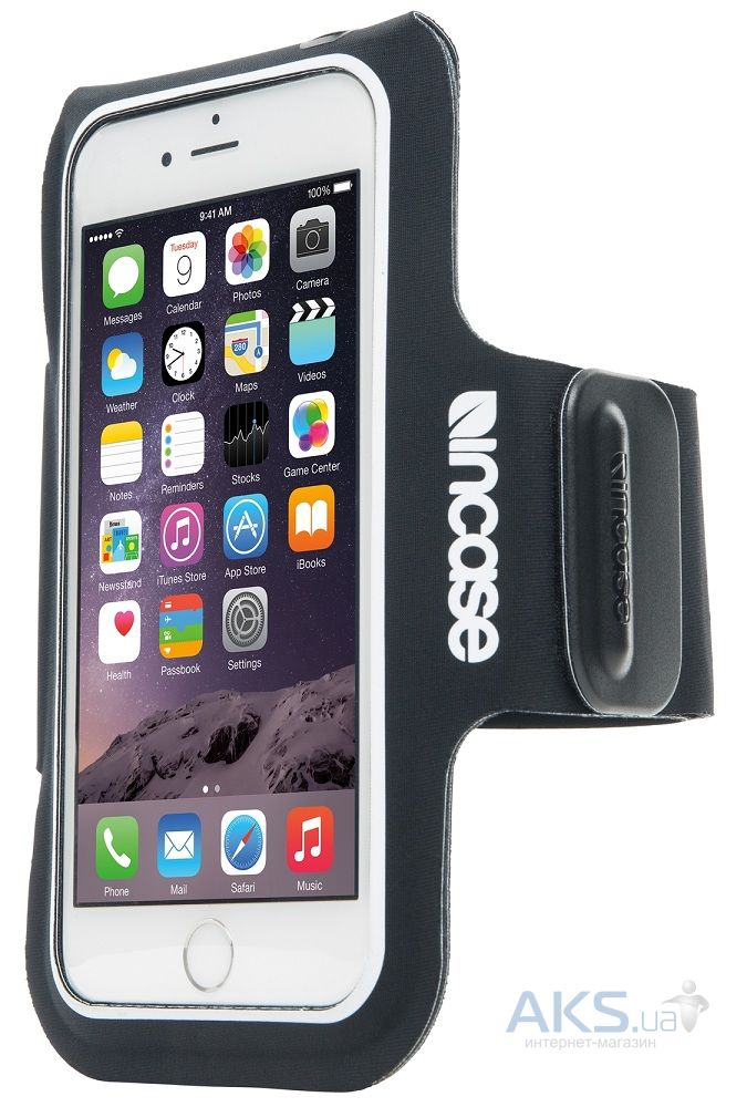 Чехол Incase Active Armband Apple iPhone 6 Plus, iPhone 6s Plus Black (INOM100125-BLK)