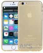 Чехол REMAX Crystal Series Apple iPhone 6, iPhone 6S Gold