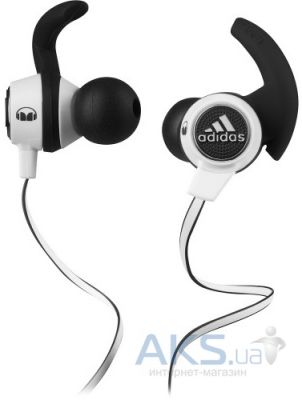 Наушники (гарнитура) Monster by Adidas® Sport Supernova™ In-Ear White/Black