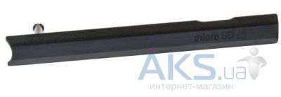 Заглушка разъема карты памяти Sony C6802 XL39h Xperia Z Ultra / C6806 Xperia Z Ultra / C6833 Xperia Z Ultra Black