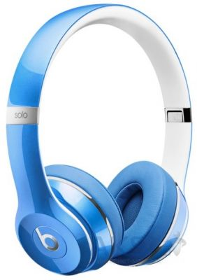 Наушники (гарнитура) Beats Solo2 On-Ear Headphones Luxe Edition Blue