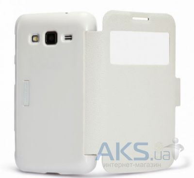 Чехол Nillkin Fresh Leather Series Samsung i8580 Galaxy Core Advance White