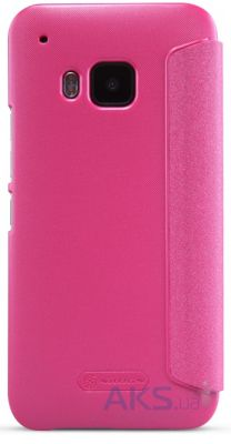 Чехол Nillkin Sparkle Leather Series HTC One M9 Pink