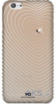 Чехол White Diamonds Heartbeat Apple iPhone 6, iPhone 6S Rose Gold (1310HBT56)