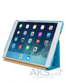 Вид 4 - Чехол для планшета JisonCase Microfiber quilted leather case for iPad Air Blue [JS-ID5-02H40]