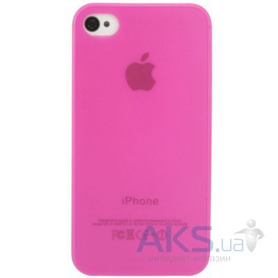 Чехол Perfektum UltraThin Case for Apple iPhone 4/4S Mate Pink