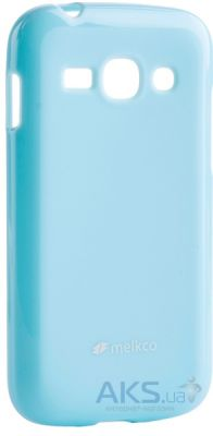 Чехол Melkco Poly Jacket TPU case for Samsung S7270/7272 Blue