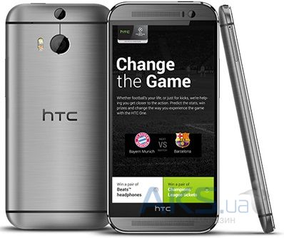 Дисплей (экран) для телефона HTC One M8, One M8 Dual Sim, One M8e + Touchscreen Original