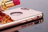 Вид 3 - Чехол Rock Infinite Mirror Series Apple iPhone 6, iPhone 6S Rose Gold