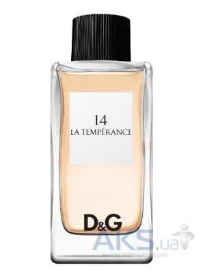 Dolce&Gabbana Anthology La Temperance №14 Туалетная вода 100 мл