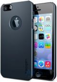 Чехол SGP Case Ultra Thin Air A Metal Slate Apple iPhone 5, iPhone 5S, iPhone 5SE (SGP10501)