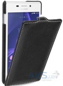 Чехол TETDED Leather Flip Series Sony Xperia M2 D2302 Black