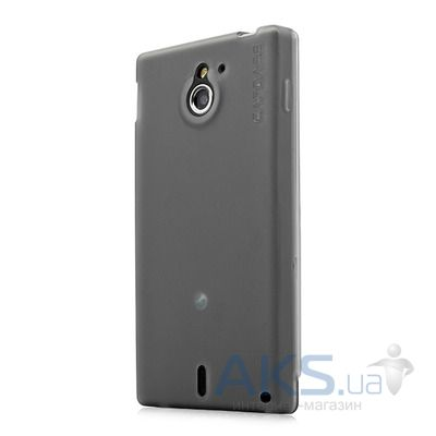 Чехол Capdase Soft Jacket Xpose Tinted for Sony Xperia Sola MT27i Black (SJSYMT27I-P201)