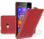 Чехол TETDED Leather Flip Series Microsoft Lumia 540 Red