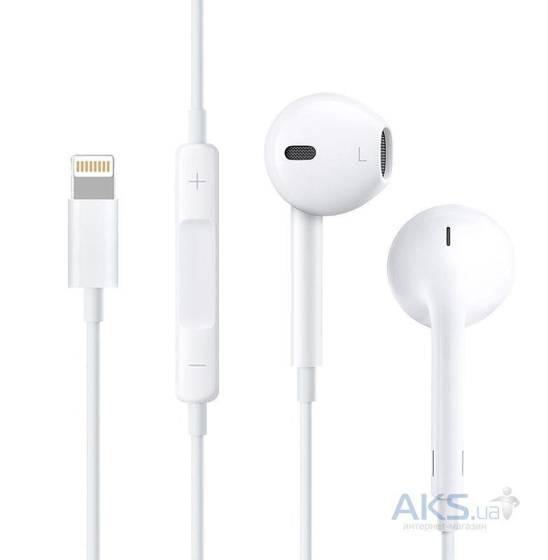 Купить гарнитуру для телефона Hoco L7 Apple Lightning White за 299 ... 1998c94ae6b61