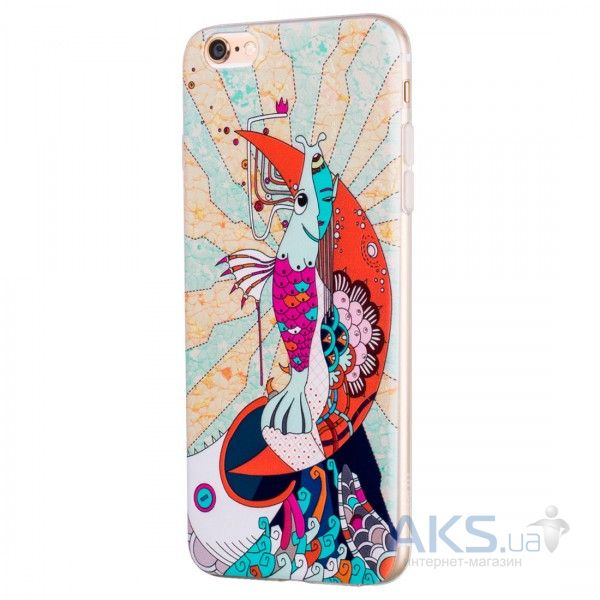 Чехол Hoco Element Series Mythology Mermaid Apple iPhone 6 Plus, iPhone 6S Plus White