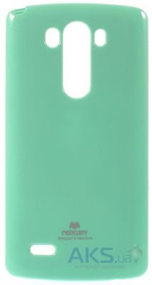 Чехол Mercury TPU Jelly Color Series LG G3 D850, D855, D856 Dual Turquoise