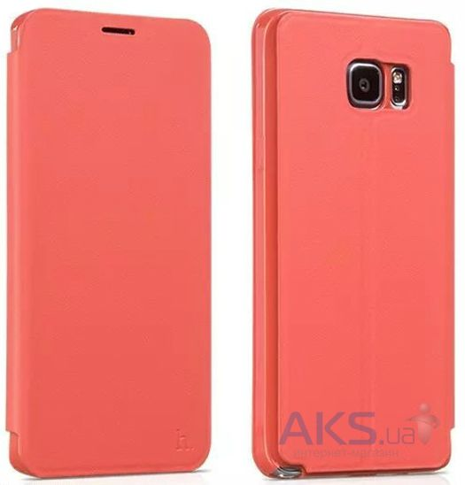 Чехол Hoco Juice Nappa Series Samsung N920 Galaxy Note 5 Red