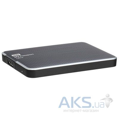 Жесткий диск внешний Western Digital 2.5 1TB My Passport Ultra (WDBZFP0010BTT-EESN) Titanium
