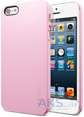 Чехол SGP Case Ultra Thin Air Series Sherbet Apple iPhone 5, iPhone 5S, iPhone 5SE Pink (SGP09506)