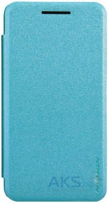 Чехол Nillkin Sparkle Leather Series Asus ZenFone 6 A601CG Turquoise