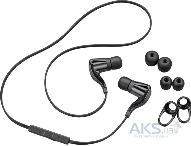 Наушники (гарнитура) Plantronics BackBeat GO Stereo Black