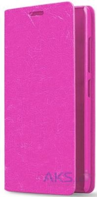 Чехол Book Cover Original case Samsung A310 Galaxy A3 2016 Pink